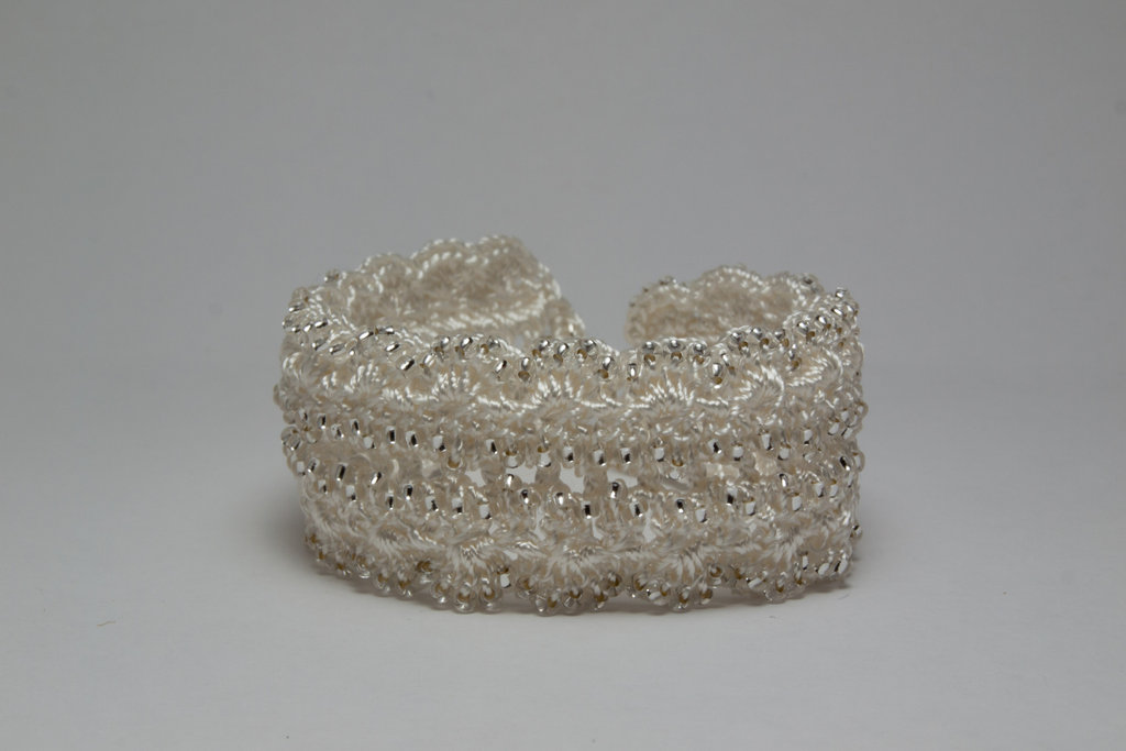 Silver Rocaille Cuff
