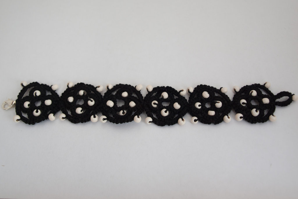 Black and Wood Bracelet